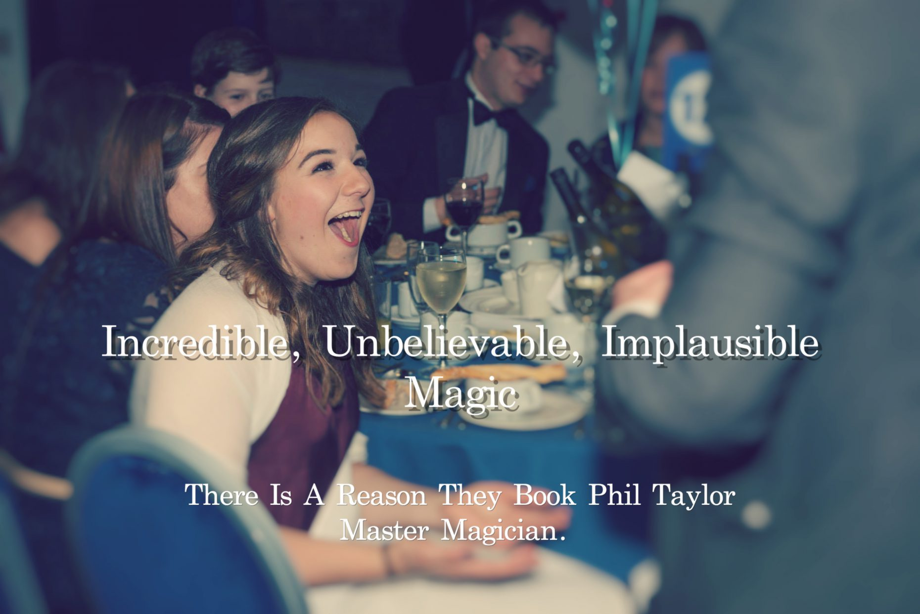 Birmingham Magician Phil Taylor