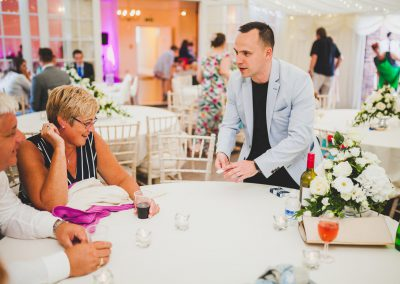 wedding magician phil taylor