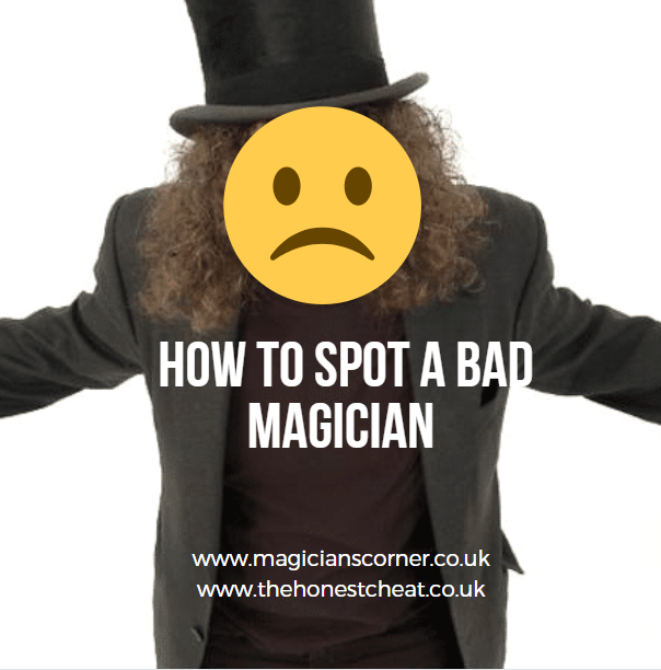How to spot a bad magician