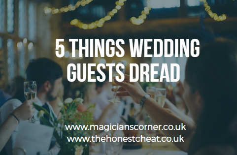 5 Things Wedding Guests Dread