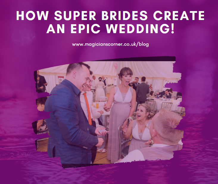 How to create an epic wedding reception