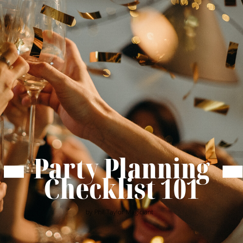 Party Planning Checklist 101