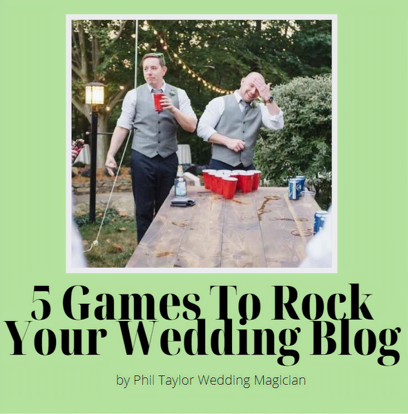 5 Wedding Games That Will Rock Your Big Day